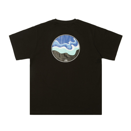 [Feel Enuff] OCEAN T-SHIRTS - BLACK