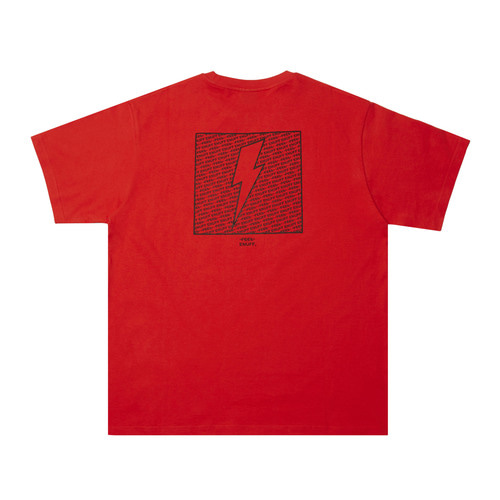 [Feel Enuff] THUNDER T-SHIRTS - RED
