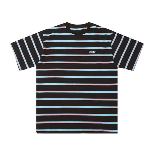 [Feel Enuff]BORDER T-SHIRTS - BLACK