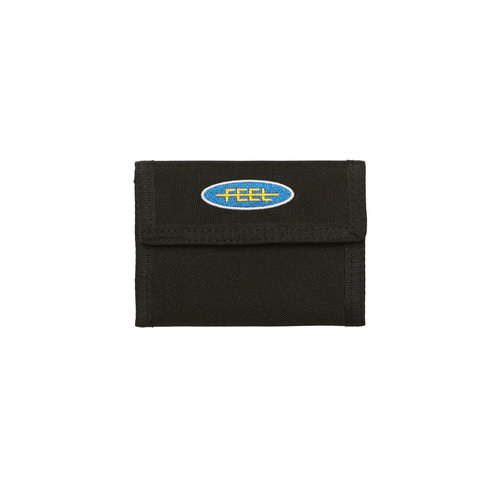 [Feel Enuff]PATCH WALLET - BLACK