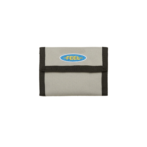 [Feel Enuff]PATCH WALLET - GRAY