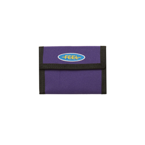 [Feel Enuff]PATCH WALLET - PURPLE