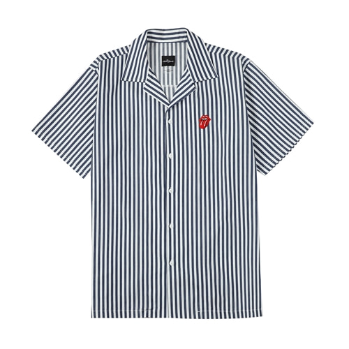 [BRAVADO] TRS CLASSIC TONGUE STRIPE OPEN SHIRT NA (BRENT1717)