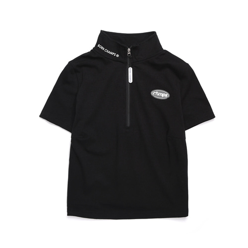 [Bornchamps]W CHAMPS ZIP TEE CERBGTS02BK