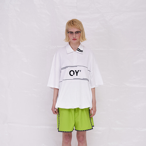 [OY]	LINE COLLAR T - WH