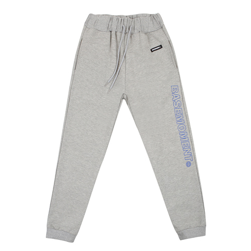 [BASEMOMENT] 18ss Basic Sweatpants - Gray