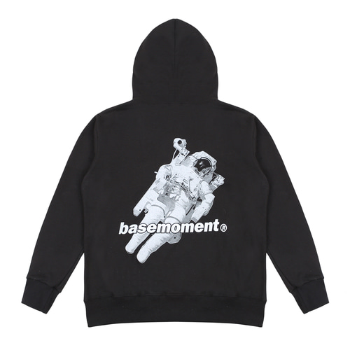 [BASEMOMENT] Space Hooded - Black