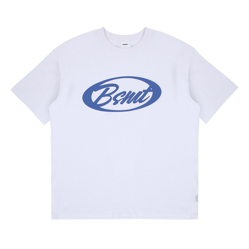 [BASEMOMENT] Circle Logo Tee - White