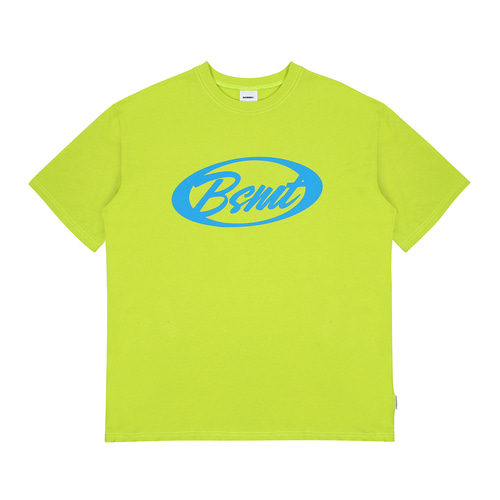 [BASEMOMENT] Circle Logo Tee - Lime