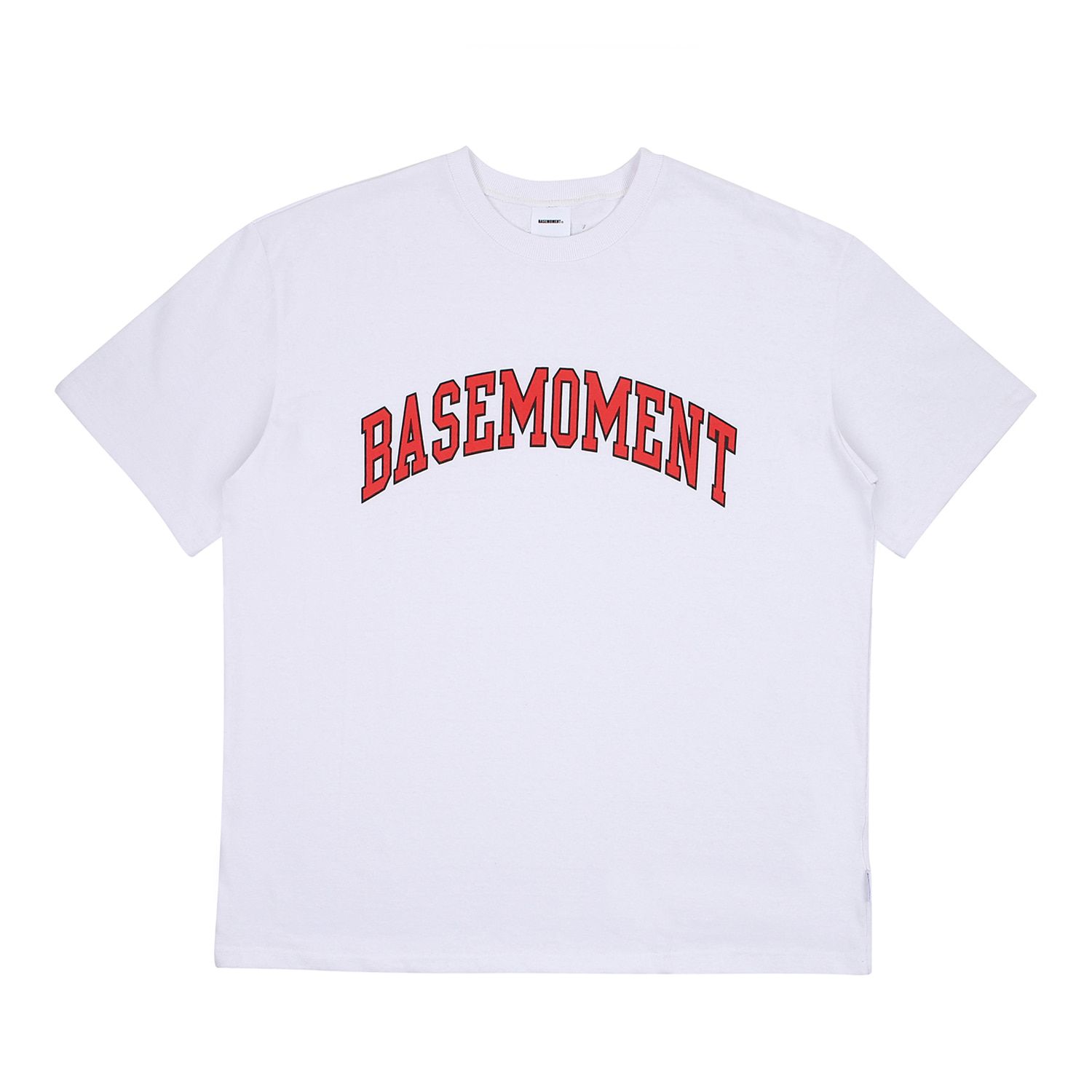 [BASEMOMENT] Arch Logo tee - White