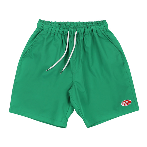 [BASEMOMENT] Surf Half Pants - Green