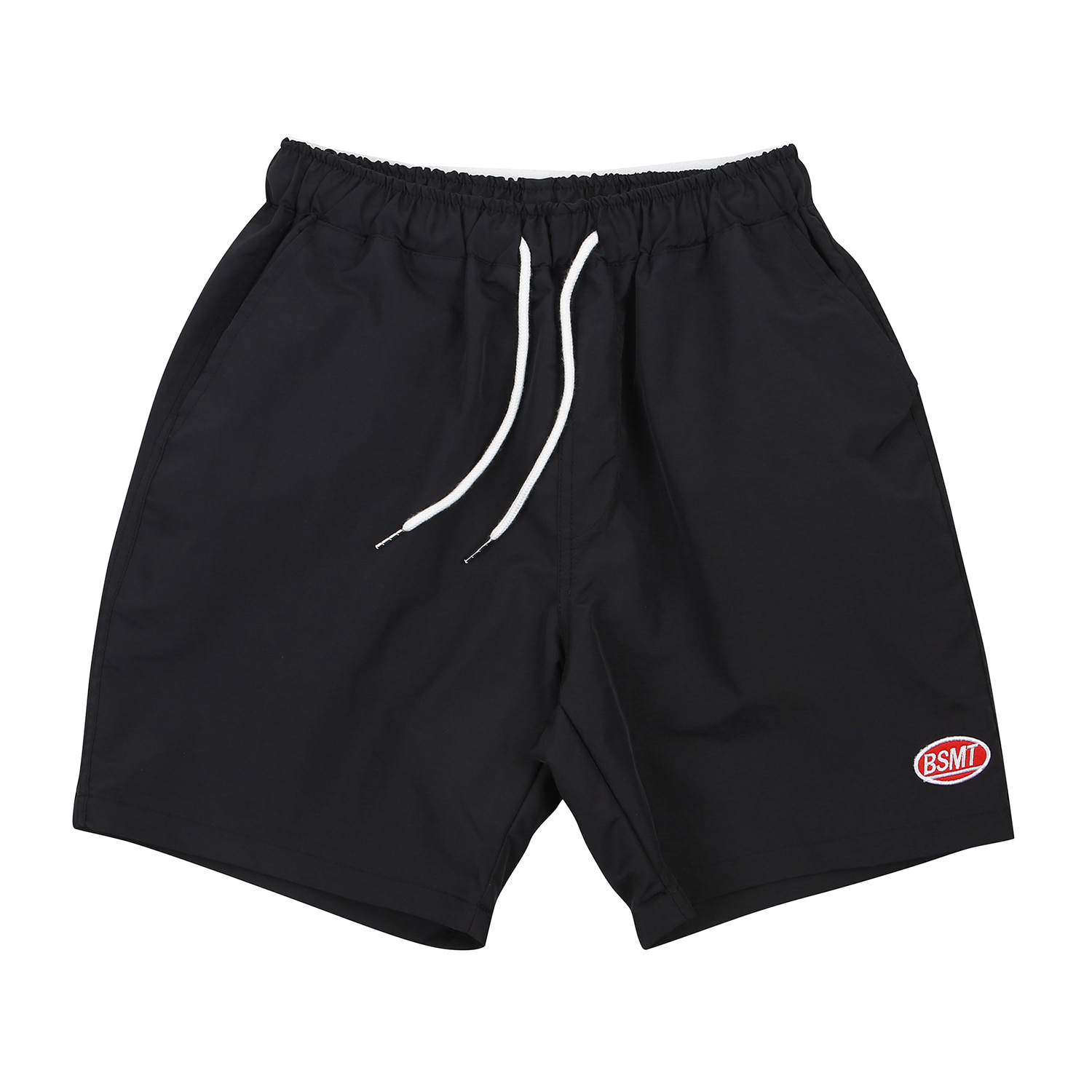 [BASEMOMENT] Surf Half Pants - Black