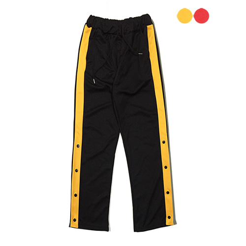 [GINGHAMBUS]Side Snap Track Pants (2color)