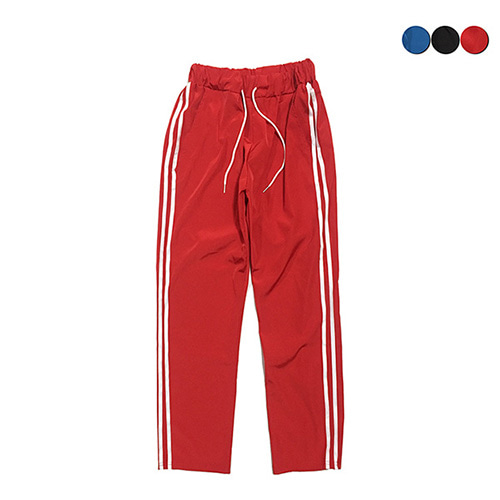 [GINGHAMBUS]Glossy Track Pants(3color)(unisex)