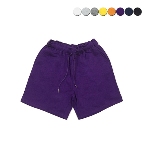 [GINGHAMBUS]Plane Sweat Shorts(8color)(unisex)