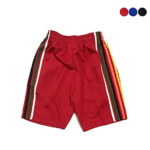 [GINGHAMBUS]5 Color Stripes Track Shorts(5color)(unisex)
