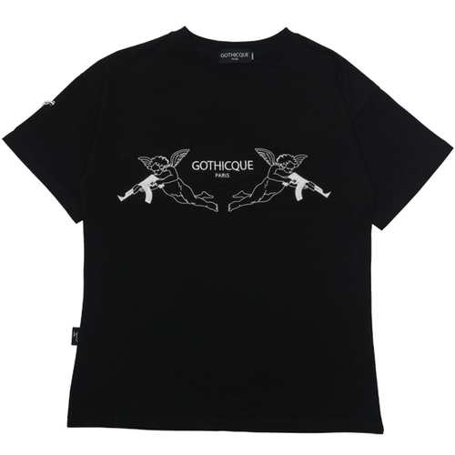 [GOTHICQUE] Angel printed t-shirt [G8SA19U89]