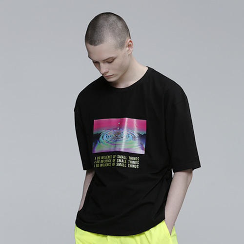 [PINK CRUSIAN] CRUSIAN B EFFECT GRAPHIC T SHIRTS PCB2TS012 (UNISEX)