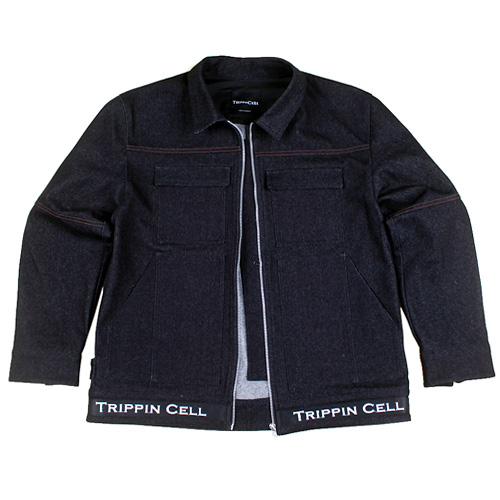 [Trippin CeLL] New Tripping Denim JK (black)
