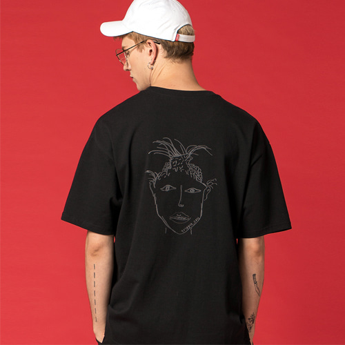 [Trippin CeLL] Demon Tee (black)