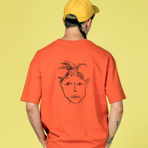 [Trippin CeLL] Demon Tee (orange)