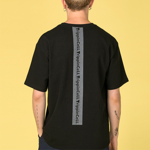 [Trippin CeLL] Signature Tee (black)