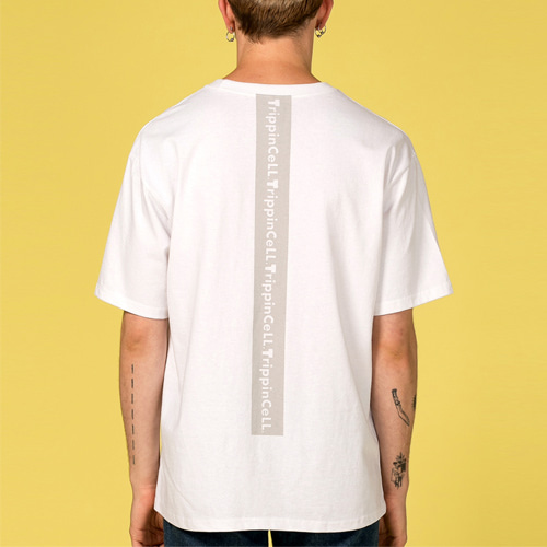 [Trippin CeLL] Signature Tee (off white)