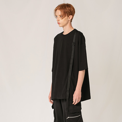 [FLAREUP] Tech webbing sleeve BK (FL-101) - black