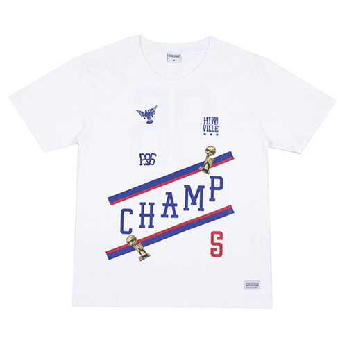 [HOUNDVILLE] CHAMP t-shirt white