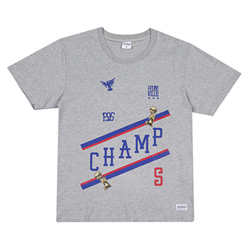 [HOUNDVILLE] CHAMP t-shirt grey