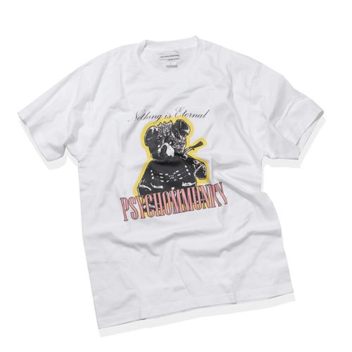 [KING] PSYCHOMMUNITY T-Shirt 001 - White