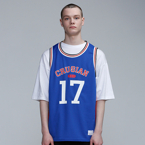 [PINK CRUSIAN] Crusian Tricolor Jersey Sleeveless (UNISEX)