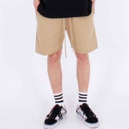 [Nar_Yoke] Basic Shorts - Beige