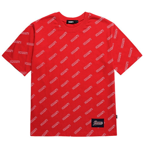 [CHARM'S] LOGO PATTERN T-shirts - RE