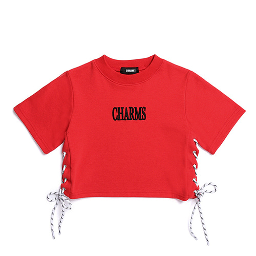 [CHARM'S] Knot Logo T - RE