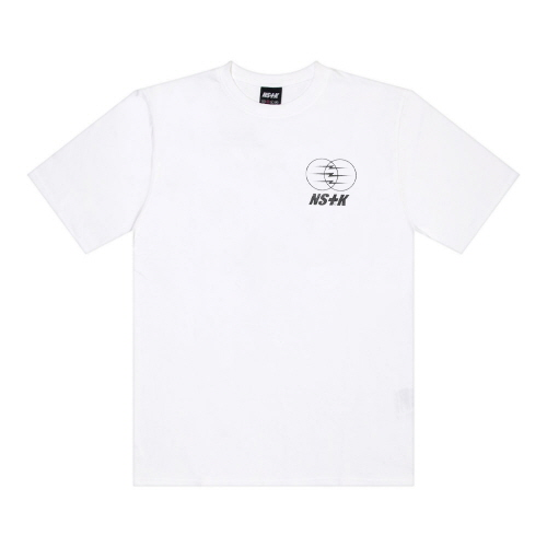 [NSTK] ELECTRIC WAGON TEE (WHT)