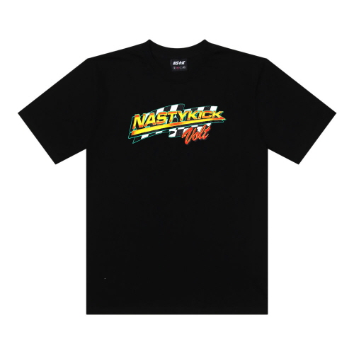 [NSTK] NSTK CHECKERRED TEE (BLK)