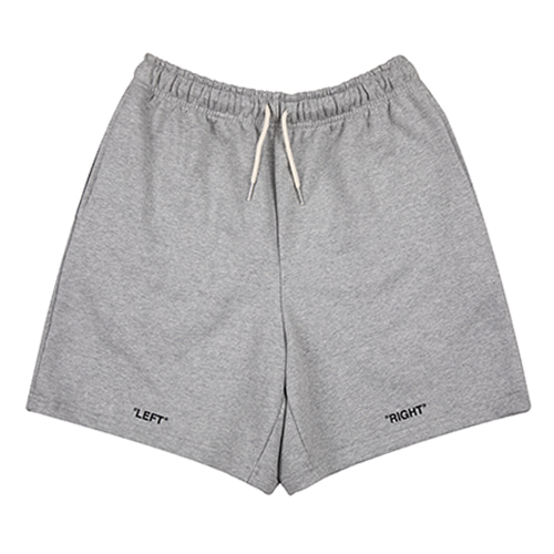 [HOUNDVILLE] OFF OFF shorts grey