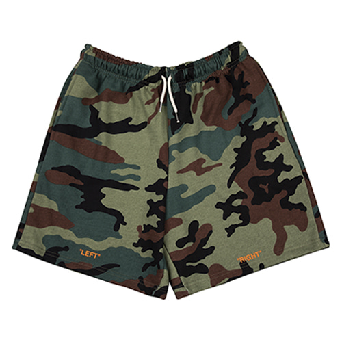 [HOUNDVILLE] OFF OFF shorts camo