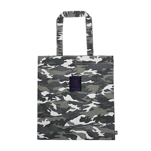 [MEZZOKUSNT] CAMOUFLAGE BAG - WHITE