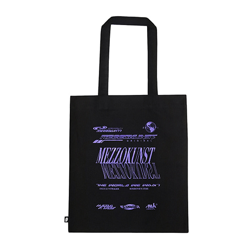 [MEZZOKUSNT] ORIGINAL COTTON BAG - BLACK