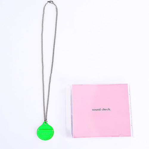 [RADIOS] Coin Holder Necklace Track.1 - Neon
