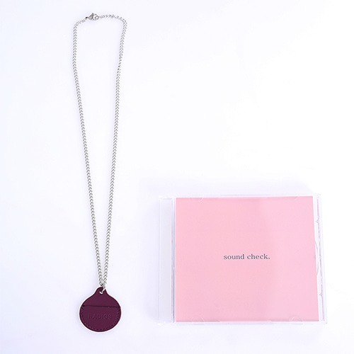 [RADIOS] Coin Holder Necklace Track.1 - Purple