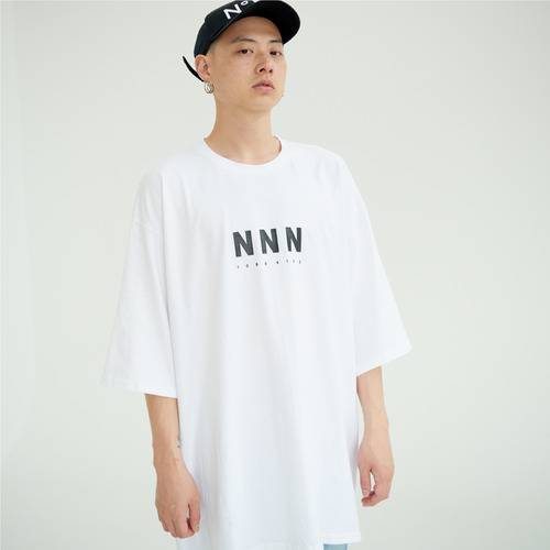 [NOT N NOT]NOT SUPERSIZE T-SHIRTS - WHITE