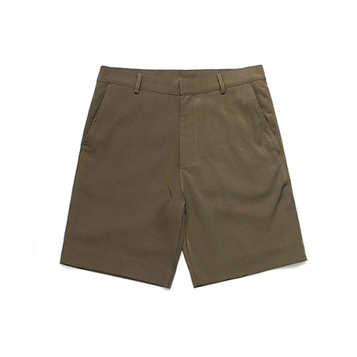 [LAFUDGESTORE]LFS Half 1/2 Slacks_Brown