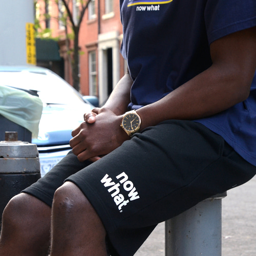 [now what] Logo Shorts