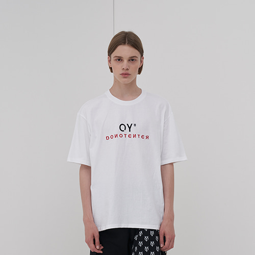 [OY] OY EMBROIDERY T - WH