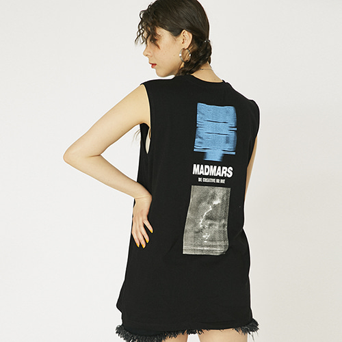 [매드마르스]SONIC WAVE SLEEVELESS