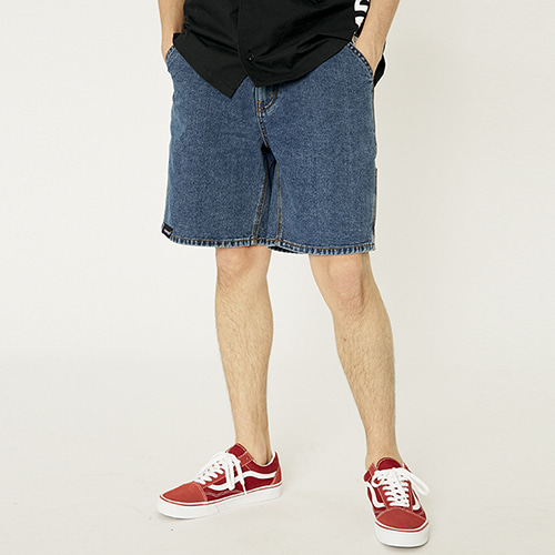 [매드마르스]SIDE POCKET SHORTS_DEEP BLUE