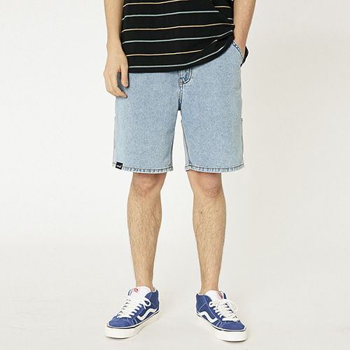 [매드마르스]SIDE POCKET SHORTS_LIGHT BLUE